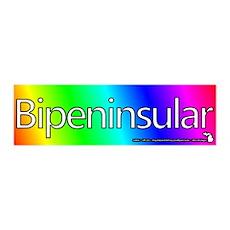 Bipeninsular Wall Decal