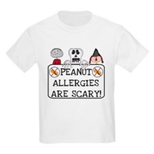 Halloween Peanut Allergy T-Shirt