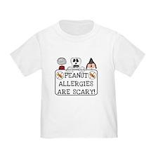 Halloween Peanut Allergy T