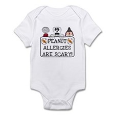 Halloween Peanut Allergy Infant Bodysuit