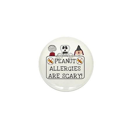 Halloween Peanut Allergy Mini Button (10 pack)