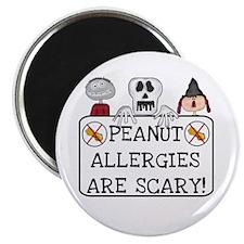 Halloween Peanut Allergy Magnet