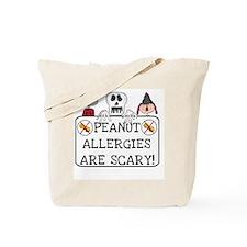Halloween Peanut Allergy Tote Bag