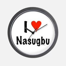 I love Nasugbu Wall Clock