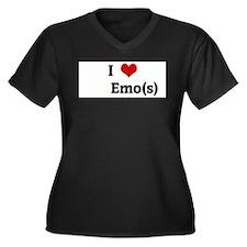 I Love Emo(s) Plus Size T-Shirt