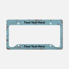 Custom Vintage License Plate Holder