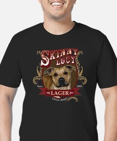 Skinny Lucy Pit Bull Lager T-Shirt
