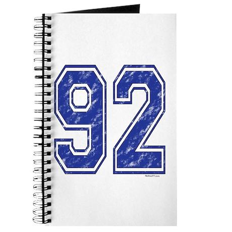 92 Jersey Year Journal
