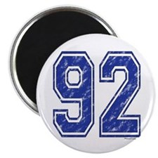 92 Jersey Year Magnet