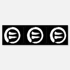 Equal Right To Life 3 Bumper Stickers