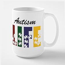 Autism Life Puzzle Mugs