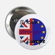 """Stronger In Europe 2.25"""" Button"""