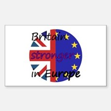 Stronger In Europe Decal