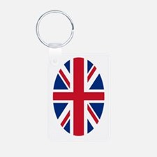 Stronger In Europe Aluminum Photo Keychains