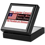 Free Lauren-1 Keepsake Box