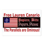 Free Lauren-1 Postcards (Package of 8)