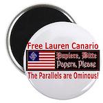 Free Lauren-1 Magnet