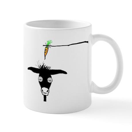 Sleepy Donkey Coffee Cup Mug