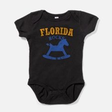 Cute Florida basketball Baby Bodysuit