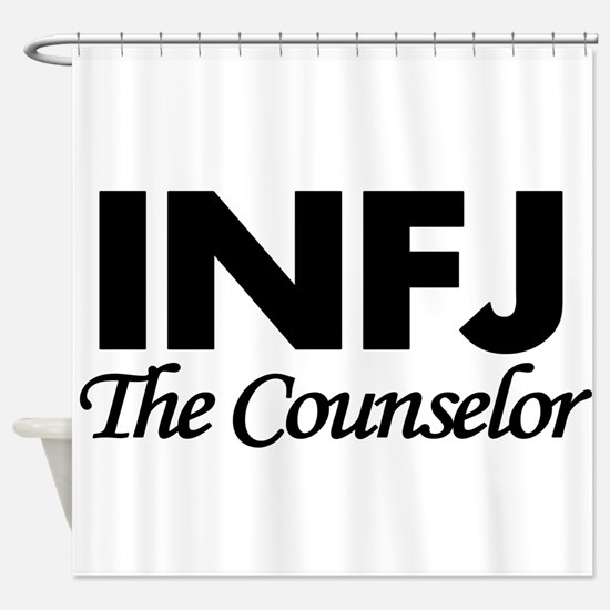 INFJ | The Counselor Shower Curtain