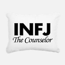 INFJ | The Counselor Rectangular Canvas Pillow