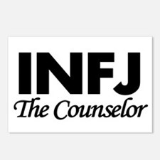 INFJ | The Counselor Postcards (Package of 8)