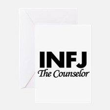 INFJ   The Counselor Greeting Cards