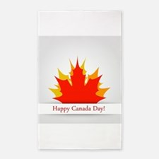 Canada day Area Rug