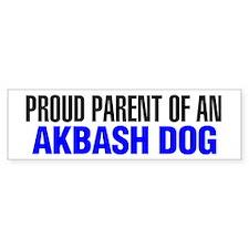 Proud Parent of an Akbash Dog Bumper Sticker