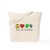 Irish dance Canvas Bags