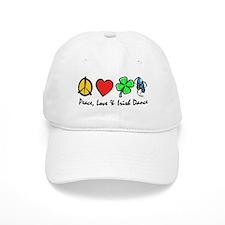 Peace Love Irish Dance Baseball Cap