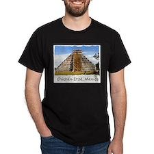 Chichén-Itzá Pyramid - Ash Grey T-Shirt