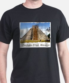 Chichén-Itzá Pyramid - Ash Grey T-Shirt