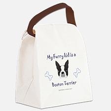 Big sister dog Canvas Lunch Bag