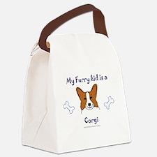 Funny Big sister dog Canvas Lunch Bag