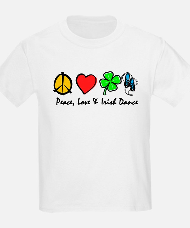 Peace Love Irish Dance T-Shirt