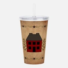 Primitive House Acrylic Double-Wall Tumbler