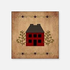 Primitive House Sticker