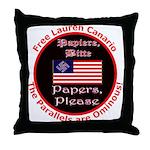 Free Lauren-2 Throw Pillow