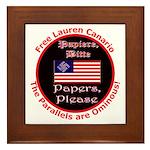 Free Lauren-2 Framed Tile