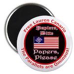 Free Lauren-2 Magnet