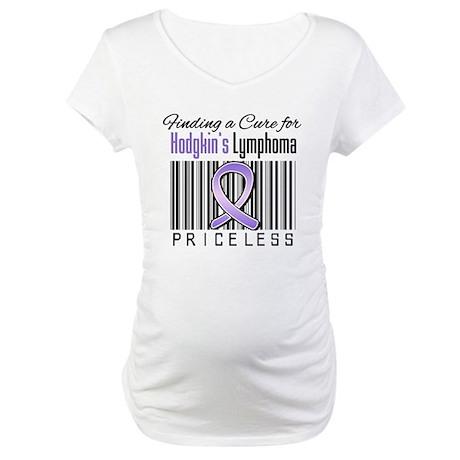 Cure Hodgkin's Disease Maternity T-Shirt