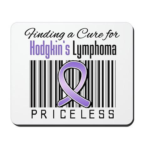 Cure Hodgkin's Disease Mousepad