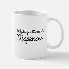 Dihydrogen Monoxide Dispenser. Mugs