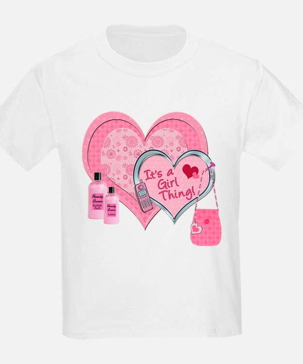 It's a Girl Thing (Pink) T-Shirt