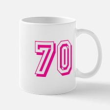 70 Pink Birthday Mug