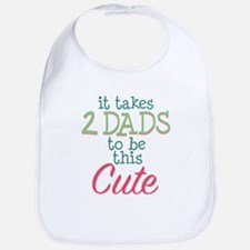 2 Dads to be This Cute Bib