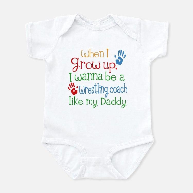 Wrestling Coach Like Daddy Infant Bodysuit
