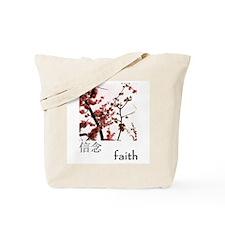 Funny Japanese faith Tote Bag