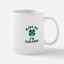 Kiss me I'm TAKASHI Mugs